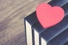 Amour pour lire le concept Photos stock