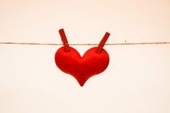 Amour pour Valentine& x27 ; jour de s Photo libre de droits