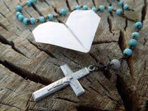 Amour, religion et nature Image libre de droits