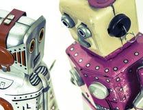 Amour romantique de robots Photos libres de droits