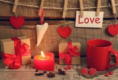 Amour rouge Photographie stock libre de droits