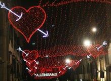 Amour rouge Image libre de droits
