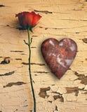 Amour rouillé Photographie stock