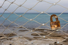 Amour rouillé Photographie stock libre de droits