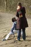 Amour : séduction, charme Photos stock
