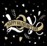 Amour - Saint-Valentin heureuse Photos stock
