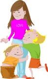 Amour sans fin Images libres de droits