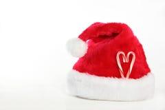 Amour, Santa Image libre de droits