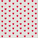 Amour simple Configuration Illustration Stock
