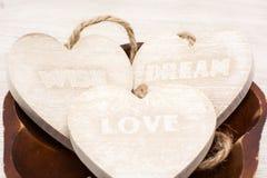 Amour, souhait, rêve Photo libre de droits