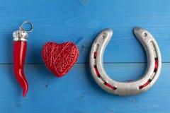 Amour superstitieux Image libre de droits