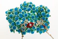 Amour sur la fleur Photos libres de droits
