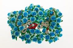 Amour sur la fleur Image stock