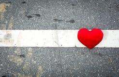 Amour sur la piste Images stock