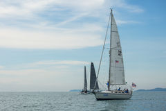 Amour THA143 ship on race Royalty Free Stock Images