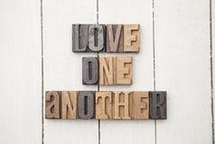 Amour un un autre Images stock