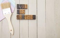 Amour un un autre Image libre de droits