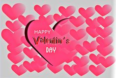 Amour Valentine& x27 ; jour de s Images stock
