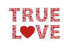 Amour vrai Photographie stock libre de droits
