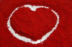 Amour vrai au milieu de l'amour Images libres de droits