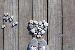 Amour, zen, équilibre, concept de la vie Images stock