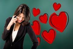 amoureux Photo libre de droits