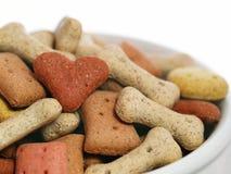 amoureux d'aliments pour chiens de concept Images libres de droits