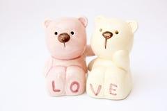 Amoureux d'ours Image libre de droits