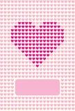 Amoureux de carte postale Photographie stock libre de droits
