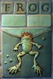 Amoureux de grenouille Photos libres de droits