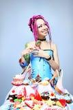 Amoureux de sucrerie Photos libres de droits