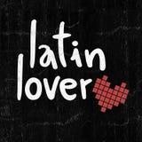 Amoureux latin illustration de vecteur