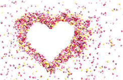 Amoureux rose des candys photos stock