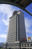 Amoy ochrony publicznej biuro buduje blisko jaskrawego obraz royalty free