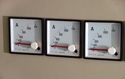 ampèremeter Royalty-vrije Stock Fotografie