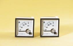 Ampèremeter Royalty-vrije Stock Afbeelding