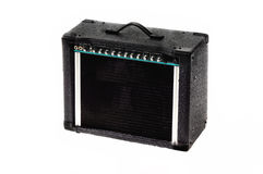 amp ηλεκτρική κιθάρα στοκ φωτογραφία