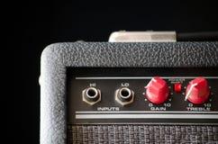 amp κιθάρα Στοκ φωτογραφίες με δικαίωμα ελεύθερης χρήσης