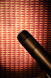 amp μικρόφωνο Στοκ φωτογραφία με δικαίωμα ελεύθερης χρήσης
