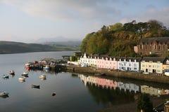 & bezpiecznej przystani & Scotland portree skye Zdjęcie Royalty Free