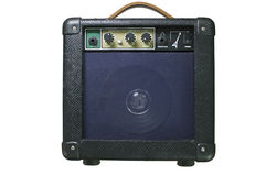 Amp guitar. Stock Photos