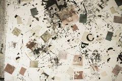 &letters van aantallen Royalty-vrije Stock Foto