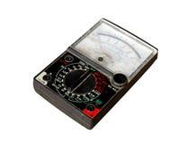 Amp meter. On white background Stock Photo