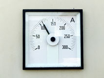 Amp meter Stock Image
