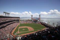 AT&T basebollarena, San Francisco Royaltyfri Fotografi