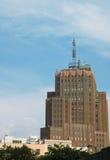 AT&T, das in New York City aufbaut Lizenzfreie Stockbilder