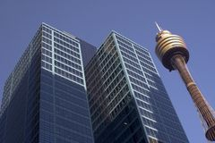AMP Tower, Sydney Royalty Free Stock Photo