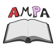 AMPA symbol Stock Image