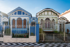 Amparo Historical Houses Stock Images