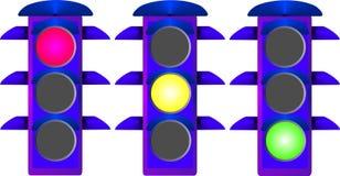 Ampel vektor abbildung